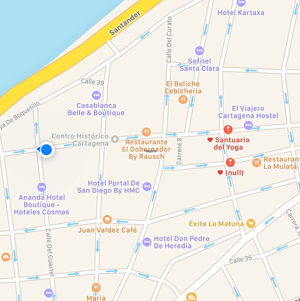 """Photo of Santuario del Yoga  by <a href=""""/members/profile/jasonxkeller"""">jasonxkeller</a> <br/>this is the actual location, 4 blocks west of what the map shows.  <br/> January 26, 2017  - <a href='/contact/abuse/image/39575/216899'>Report</a>"""