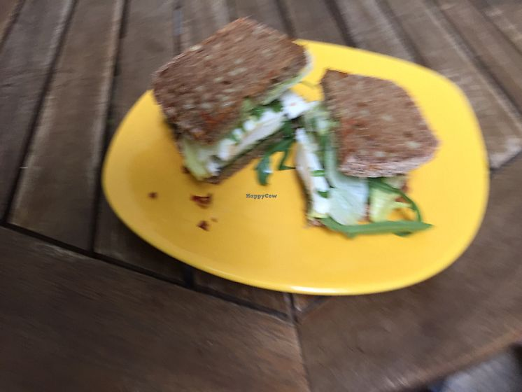 "Photo of The Hatori Place Cafe  by <a href=""/members/profile/Rachiem"">Rachiem</a> <br/>vegan cheese sandwich on oat bread <br/> June 18, 2017  - <a href='/contact/abuse/image/39599/270511'>Report</a>"