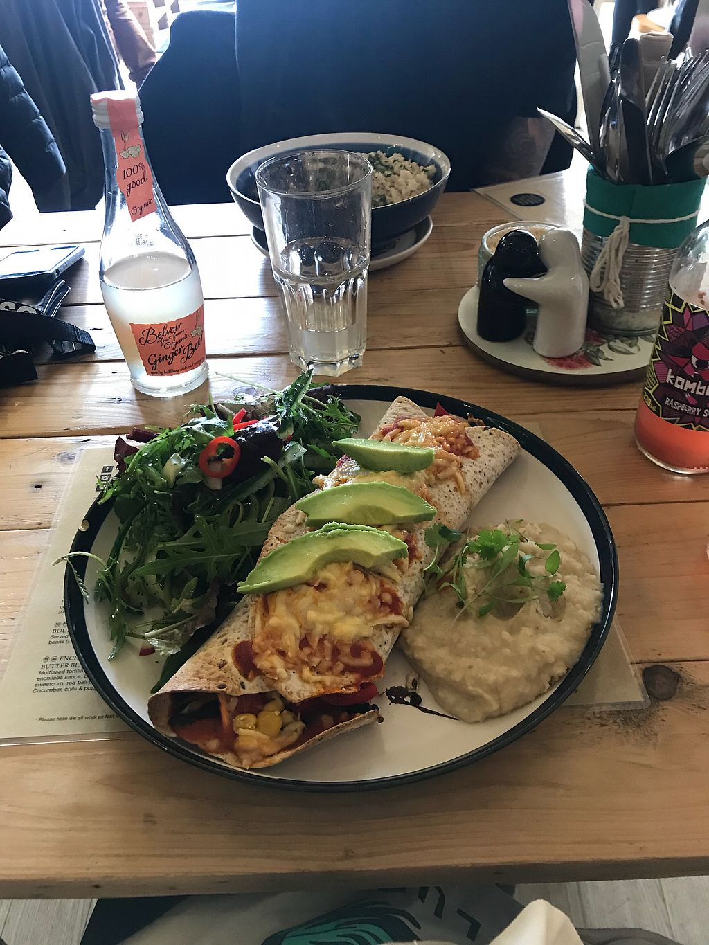 """Photo of Mad Cucumber - Vegan Lounge  by <a href=""""/members/profile/fernandacassel"""">fernandacassel</a> <br/>Enchillada <br/> March 18, 2018  - <a href='/contact/abuse/image/39613/372470'>Report</a>"""