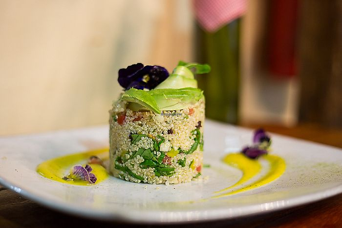 """Photo of Green Point  by <a href=""""/members/profile/Hootinthehouse"""">Hootinthehouse</a> <br/>Quinoa Salad <br/> July 19, 2017  - <a href='/contact/abuse/image/39623/281987'>Report</a>"""