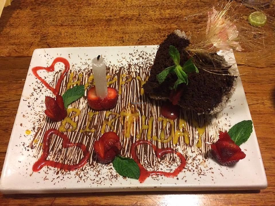 """Photo of Green Point  by <a href=""""/members/profile/Aj88"""">Aj88</a> <br/>Visited green point last year with friends and family and it was my sisters partners birthday - they did us proud, we were truly touched by the cake they did for him. Also had the cheese board and the bruschetta - it was all incredible! what a gem - you have to go! <br/> November 15, 2017  - <a href='/contact/abuse/image/39623/325828'>Report</a>"""