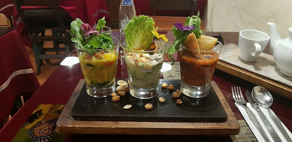 """Photo of Green Point  by <a href=""""/members/profile/theguyintherye"""">theguyintherye</a> <br/>Trio of ceviche <br/> March 31, 2018  - <a href='/contact/abuse/image/39623/379007'>Report</a>"""