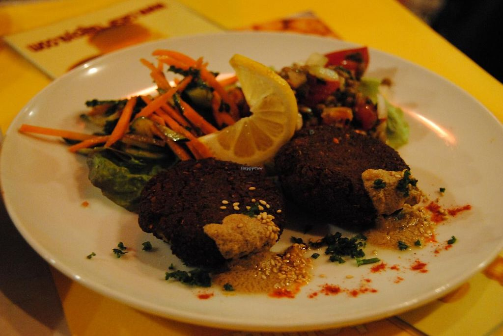 """Photo of Casablanca Moroccan Restaurant  by <a href=""""/members/profile/abbajen"""">abbajen</a> <br/>Falafel Plate.  Absolutely delicious! <br/> March 30, 2014  - <a href='/contact/abuse/image/39634/66720'>Report</a>"""