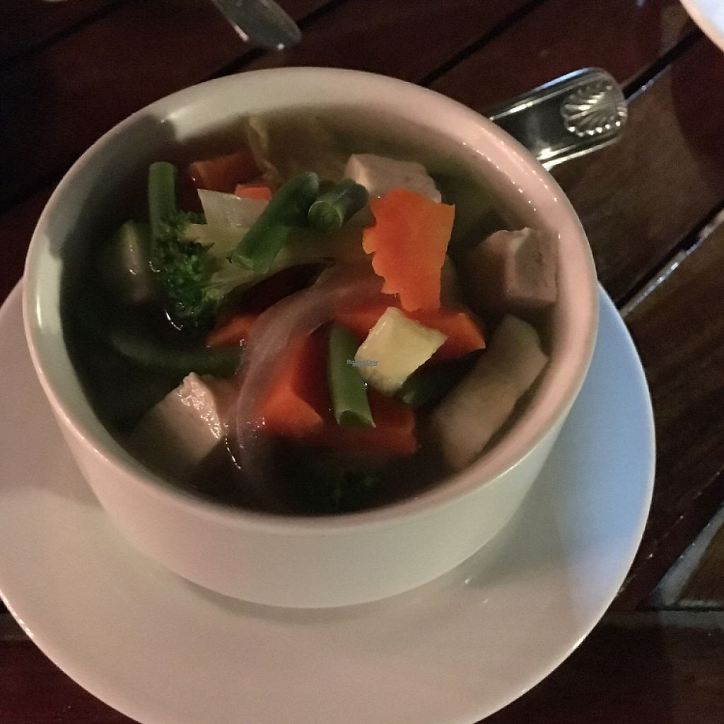"Photo of Zen Bistro  by <a href=""/members/profile/KWdaddio"">KWdaddio</a> <br/>vegetable soup <br/> February 5, 2017  - <a href='/contact/abuse/image/39658/222576'>Report</a>"