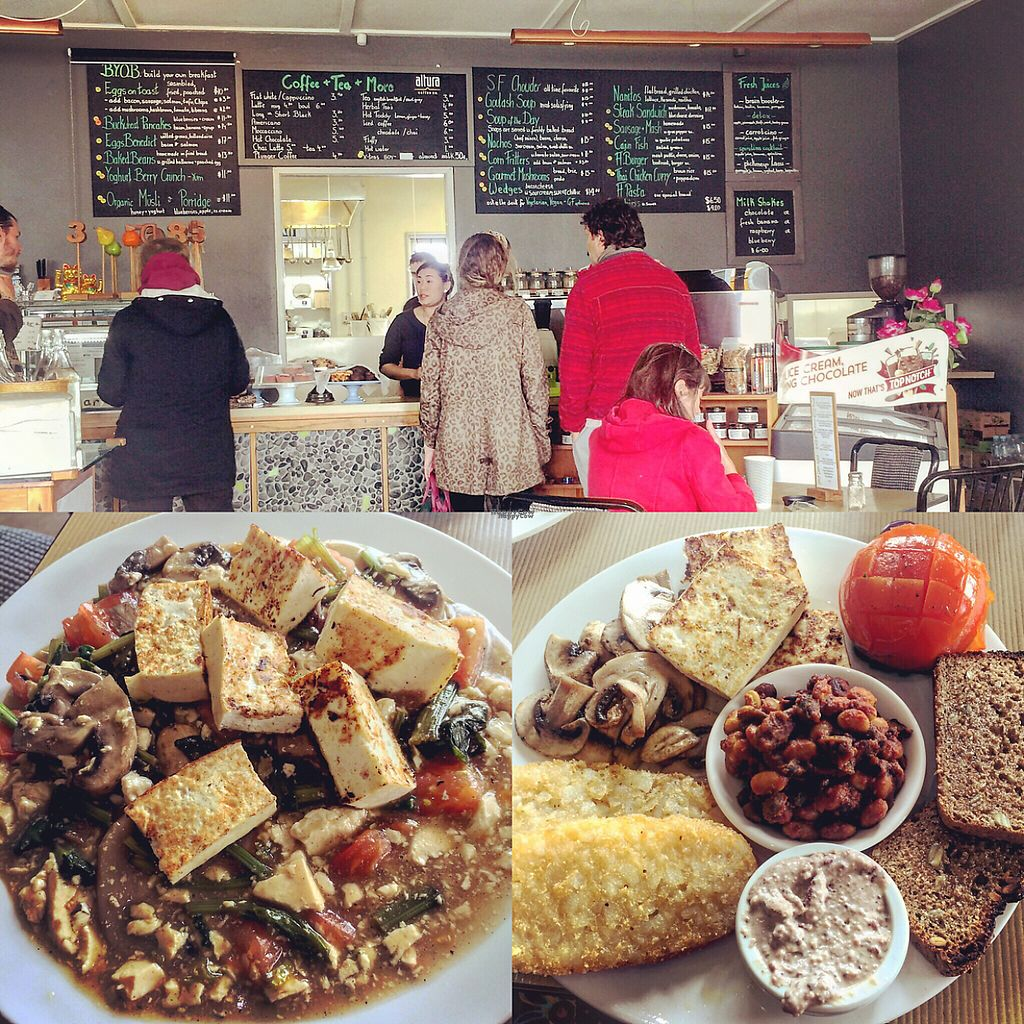"Photo of Fine Fettle Cafe  by <a href=""/members/profile/altricial"">altricial</a> <br/>tofu stir fry and vegan breakfast  <br/> November 29, 2016  - <a href='/contact/abuse/image/39669/195897'>Report</a>"