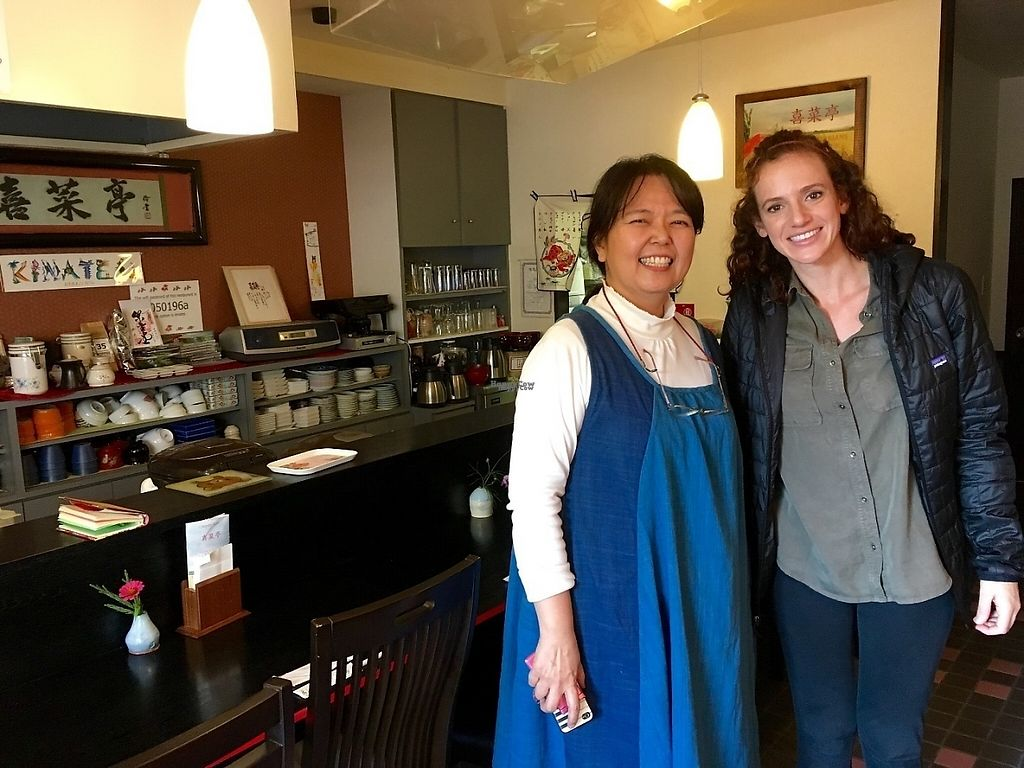 "Photo of Kinatei  by <a href=""/members/profile/alexanderamanda88"">alexanderamanda88</a> <br/>I had a great time talking with the owner of Kinatei. She is such an interesting woman and makes amazing food! <br/> November 14, 2016  - <a href='/contact/abuse/image/39690/189871'>Report</a>"