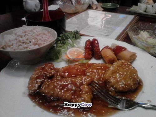 "Photo of Kotobuki  by <a href=""/members/profile/LmtWetmoney"">LmtWetmoney</a> <br/>Veggie/vegan Sesame Chicken Dinner Size <br/> November 10, 2013  - <a href='/contact/abuse/image/3971/58295'>Report</a>"