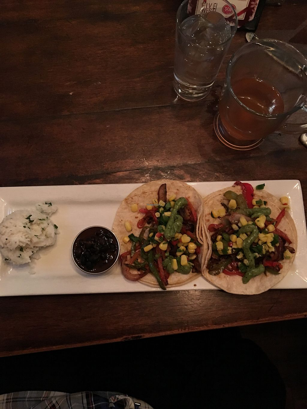"""Photo of The Loop  by <a href=""""/members/profile/TeresaLinda"""">TeresaLinda</a> <br/>Delicious and Filling Veggie Tacos with no cheese sauce <br/> December 26, 2017  - <a href='/contact/abuse/image/39767/339285'>Report</a>"""