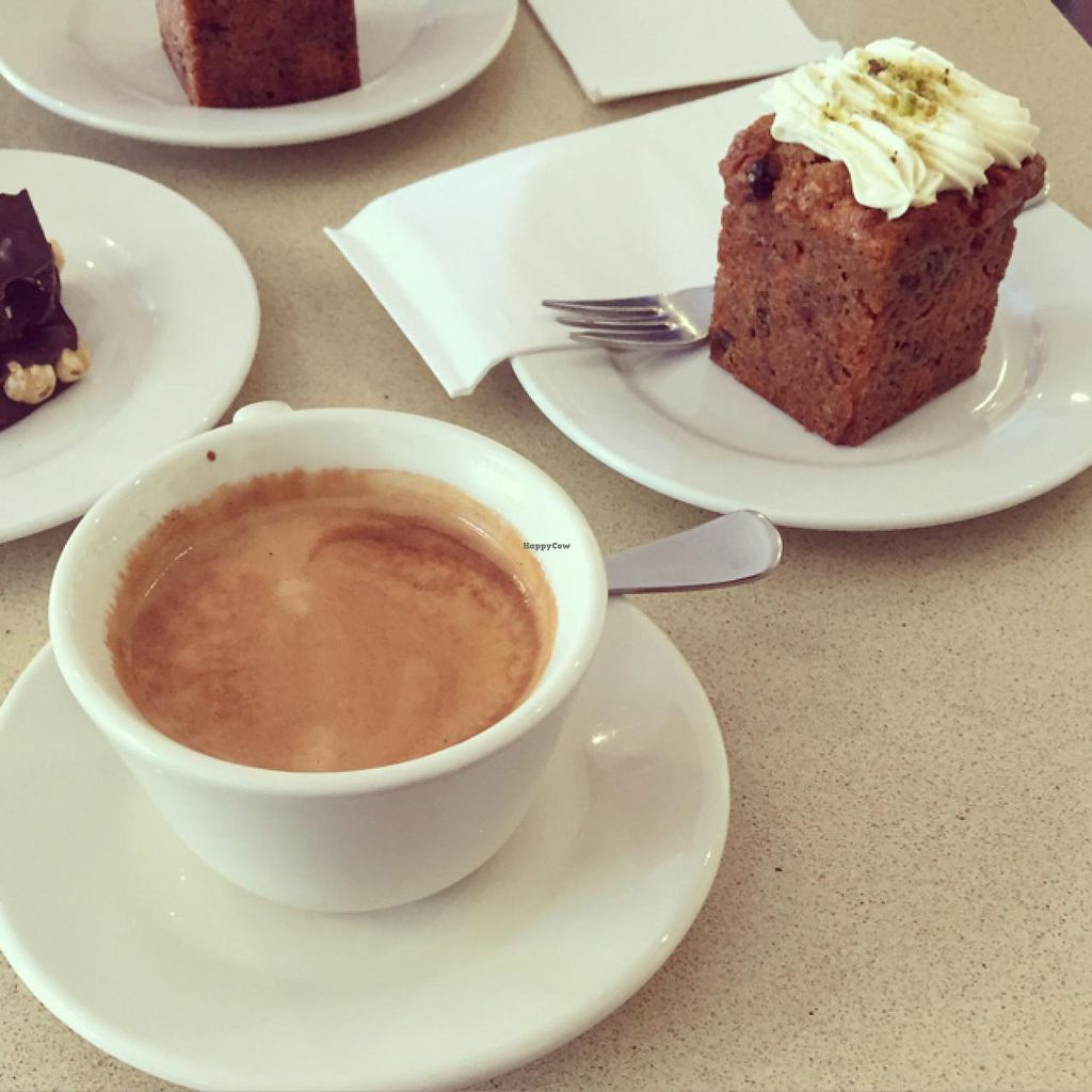"""Photo of Sterling Espresso Bar - maybe closed  by <a href=""""/members/profile/Marie88"""">Marie88</a> <br/>amazing vegan carrot cake and long black <br/> April 11, 2015  - <a href='/contact/abuse/image/39789/98657'>Report</a>"""