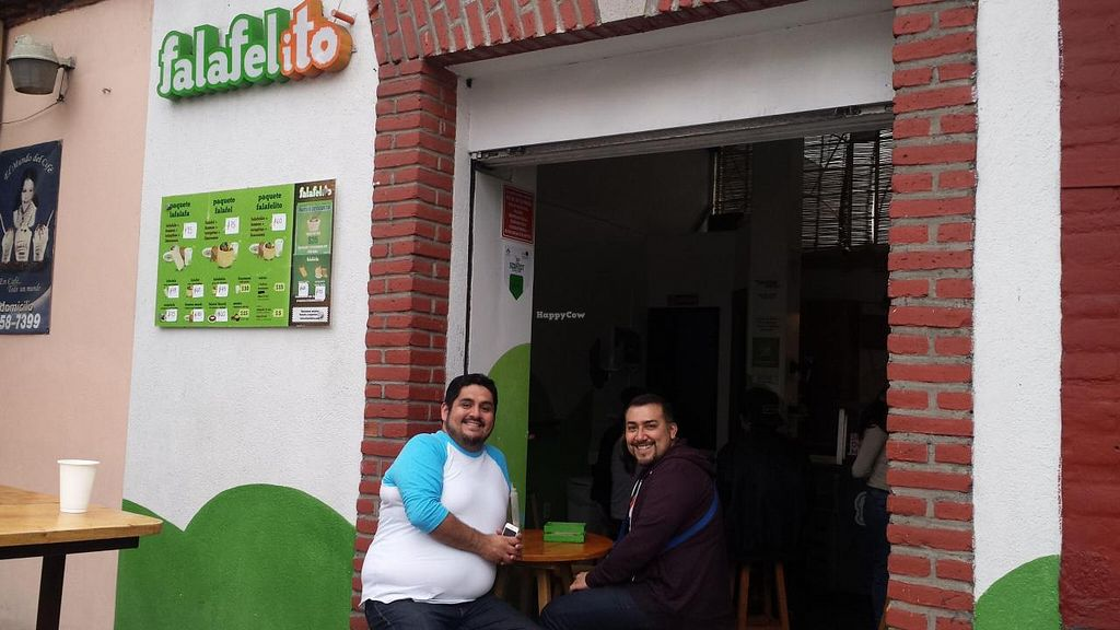"""Photo of Falafelito - Coyoacan  by <a href=""""/members/profile/Hotfuzzy69"""">Hotfuzzy69</a> <br/>Cafe entrance <br/> January 25, 2015  - <a href='/contact/abuse/image/39816/91374'>Report</a>"""