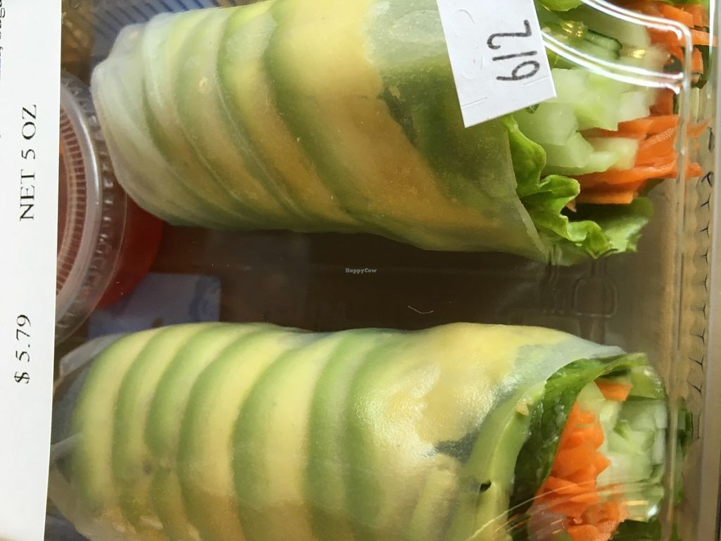 "Photo of Dawson's Market  by <a href=""/members/profile/cookiem"">cookiem</a> <br/>Avocado vegan roll <br/> June 4, 2016  - <a href='/contact/abuse/image/39845/152221'>Report</a>"