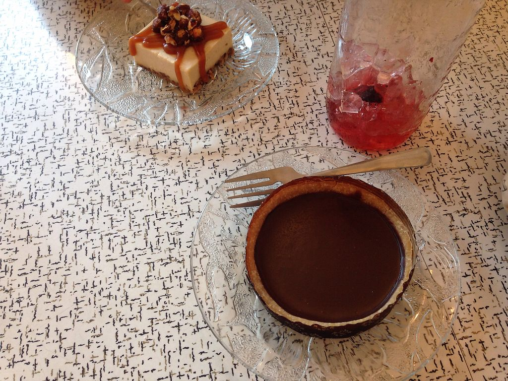 """Photo of Sophie Sucree  by <a href=""""/members/profile/doitforthemermaids"""">doitforthemermaids</a> <br/>Huge chocolate tart & hazelnut cheezcake <br/> October 12, 2017  - <a href='/contact/abuse/image/39859/314366'>Report</a>"""