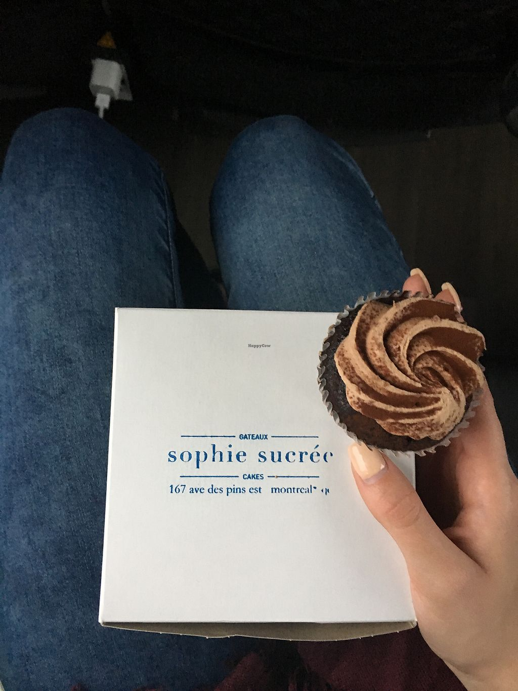 """Photo of Sophie Sucree  by <a href=""""/members/profile/MathildeRobichaud"""">MathildeRobichaud</a> <br/>Cupcake au chocolat <br/> December 5, 2017  - <a href='/contact/abuse/image/39859/332610'>Report</a>"""