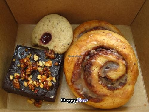 """Photo of Sophie Sucree  by <a href=""""/members/profile/Babette"""">Babette</a> <br/>Cookie with jelly, amazing cinammon buns and chocolate-hazelnut cake <br/> October 17, 2013  - <a href='/contact/abuse/image/39859/56846'>Report</a>"""