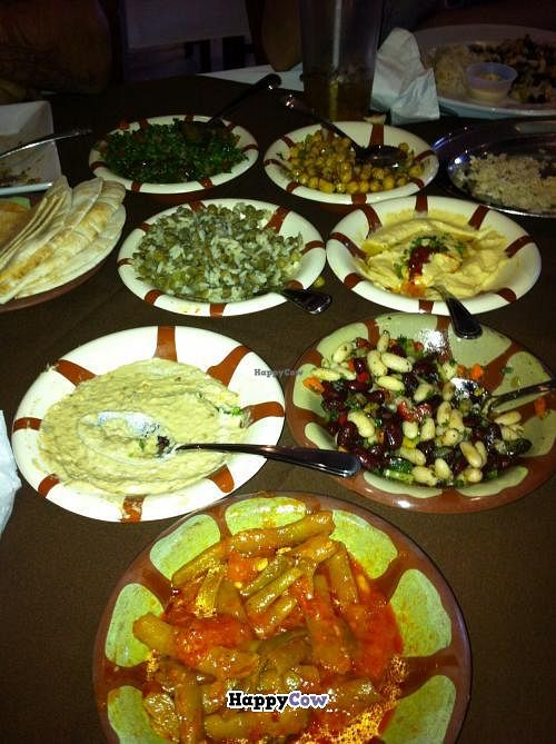 """Photo of CLOSED: The Cedar Grill  by <a href=""""/members/profile/Gracem"""">Gracem</a> <br/>Fantastic spread of side dishes.  <br/> October 19, 2013  - <a href='/contact/abuse/image/39861/56917'>Report</a>"""