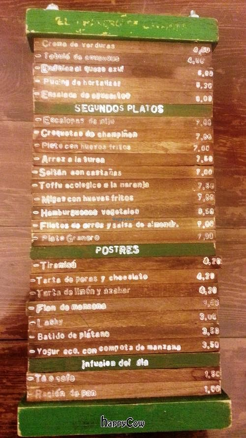 "Photo of CLOSED: El Granero de Lavapies  by <a href=""/members/profile/Fer"">Fer</a> <br/>Wood menu <br/> February 2, 2013  - <a href='/contact/abuse/image/3987/43681'>Report</a>"