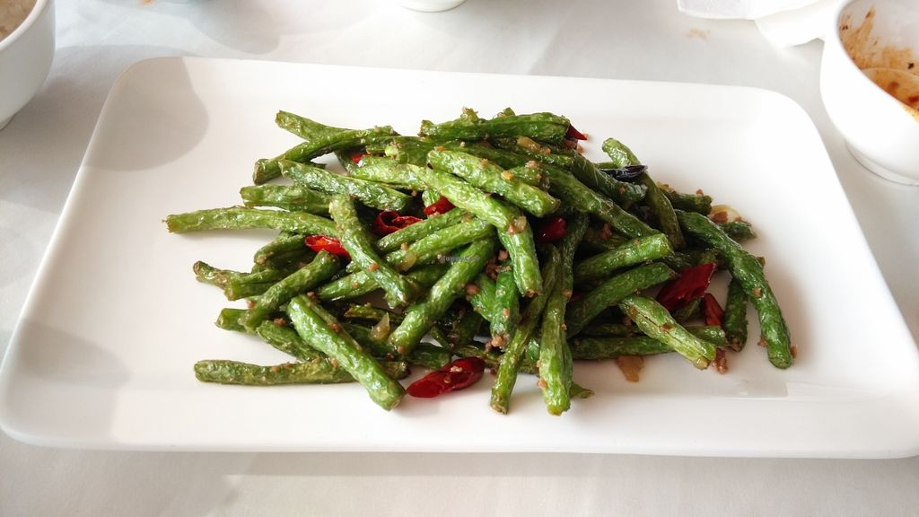 """Photo of Vegetarian Life Style - Zao Zi Shu - Yuanshen  by <a href=""""/members/profile/Drabbitgon"""">Drabbitgon</a> <br/>fried long bean  <br/> January 19, 2016  - <a href='/contact/abuse/image/39903/133047'>Report</a>"""