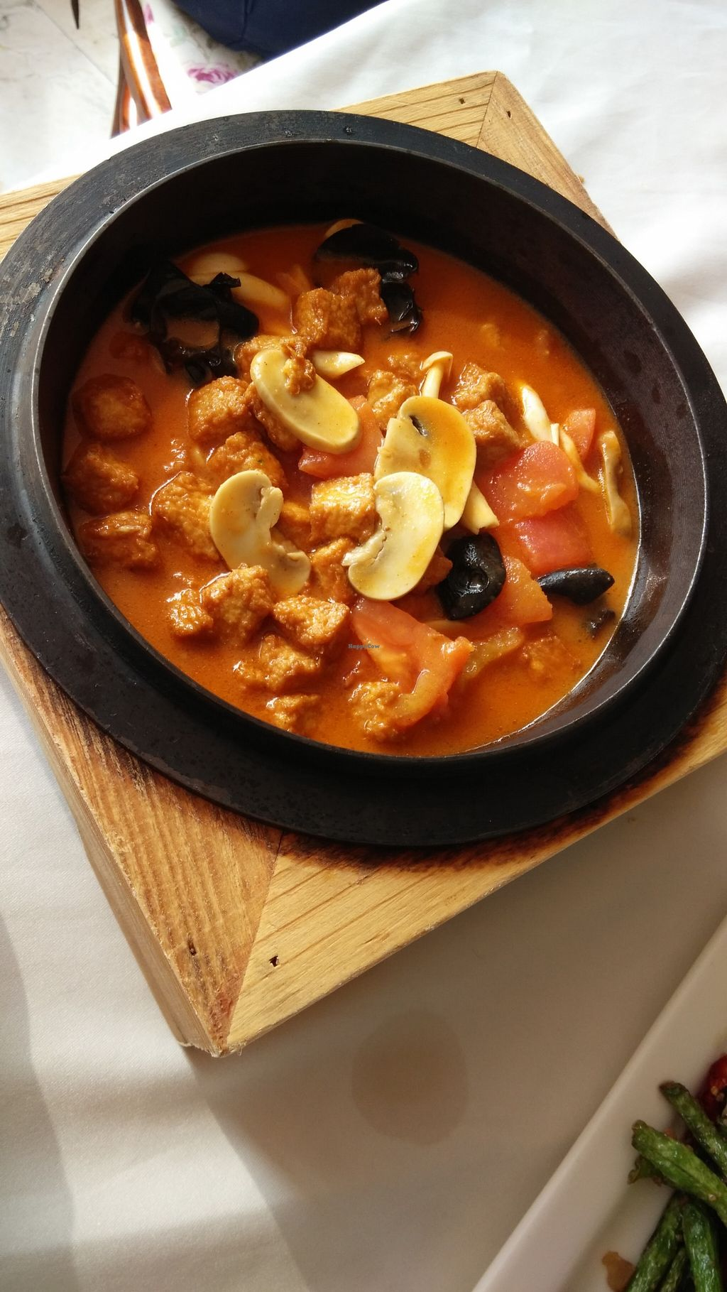 """Photo of Vegetarian Life Style - Zao Zi Shu - Yuanshen  by <a href=""""/members/profile/Drabbitgon"""">Drabbitgon</a> <br/>Curry hot pot  <br/> January 19, 2016  - <a href='/contact/abuse/image/39903/133048'>Report</a>"""
