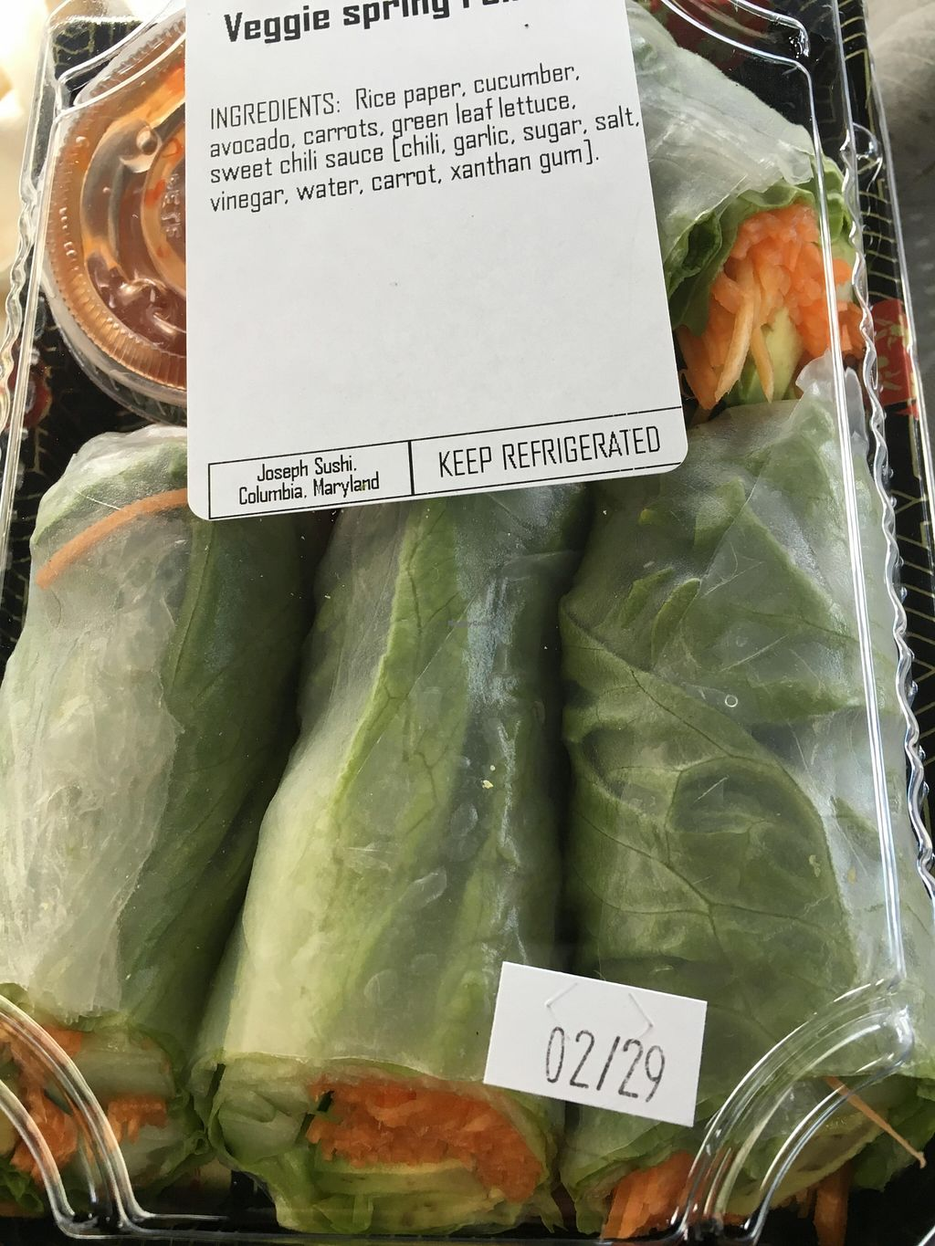 """Photo of Roots Market  by <a href=""""/members/profile/cookiem"""">cookiem</a> <br/>Spring rolls!! <br/> February 28, 2016  - <a href='/contact/abuse/image/3990/138134'>Report</a>"""