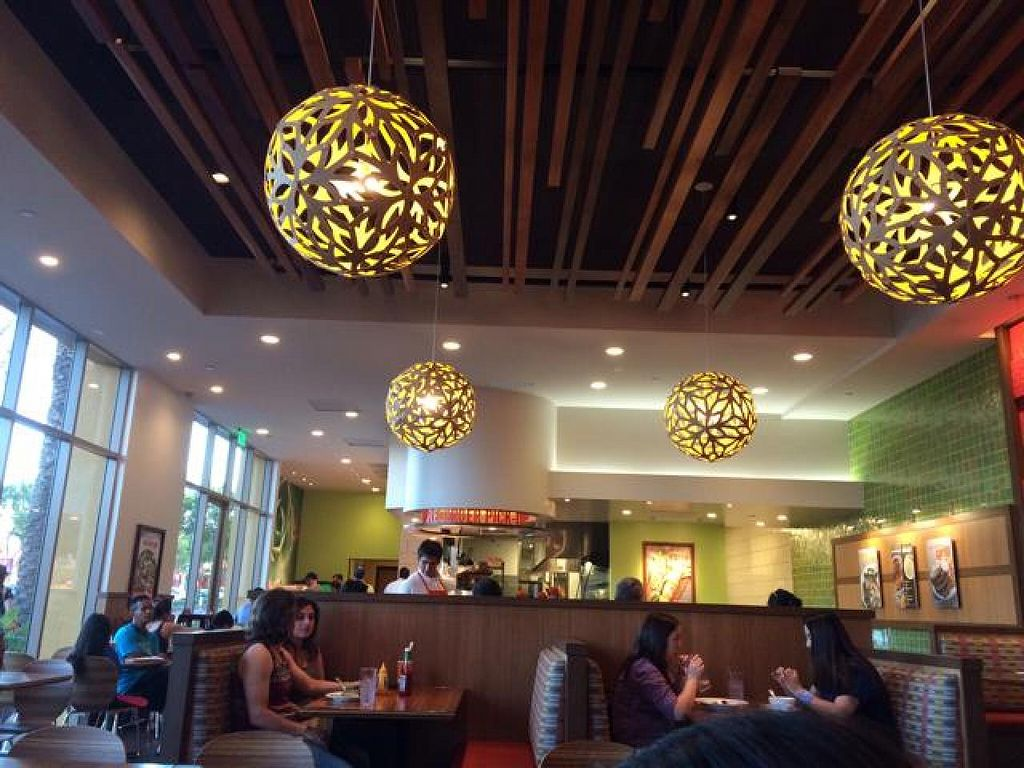 """Photo of CLOSED: The Veggie Grill - Irvine Crossroads  by <a href=""""/members/profile/samlove0134"""">samlove0134</a> <br/>inside decor <br/> October 7, 2014  - <a href='/contact/abuse/image/39940/82356'>Report</a>"""