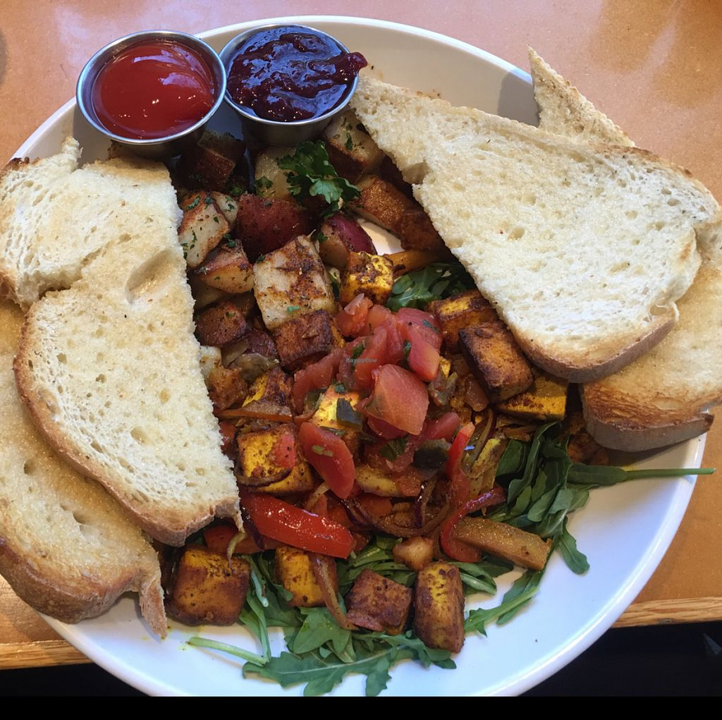 """Photo of Stella's Cafe and Bakery - Portage Ave  by <a href=""""/members/profile/gwild"""">gwild</a> <br/>tofu scramble  <br/> June 8, 2016  - <a href='/contact/abuse/image/39960/152806'>Report</a>"""