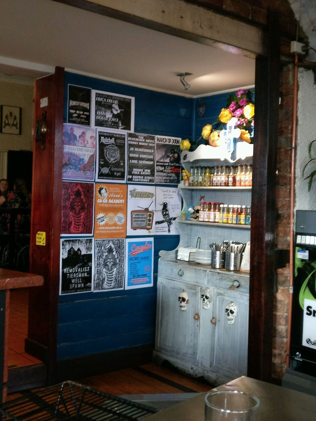 """Photo of The Reverence Hotel  by <a href=""""/members/profile/Aloo"""">Aloo</a> <br/>hot sauce anyone?  <br/> March 15, 2018  - <a href='/contact/abuse/image/39973/370929'>Report</a>"""