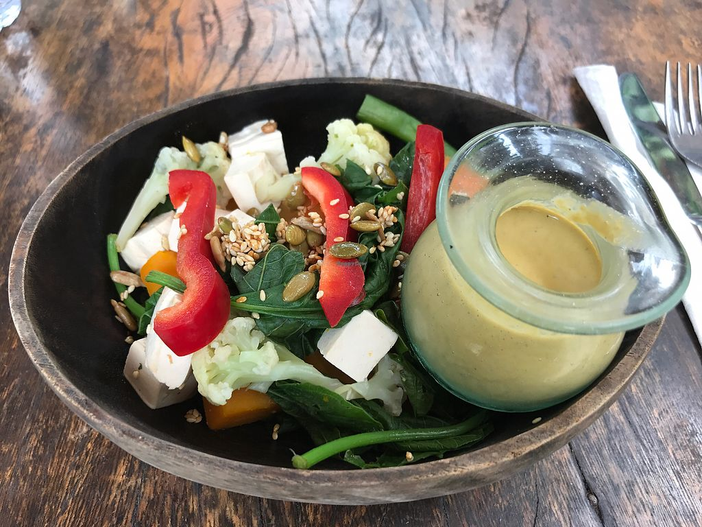 "Photo of The Garden Kafe at The Yoga Barn  by <a href=""/members/profile/LolaNachtigall"">LolaNachtigall</a> <br/>macro bowl - vegan <br/> November 9, 2017  - <a href='/contact/abuse/image/39987/323457'>Report</a>"