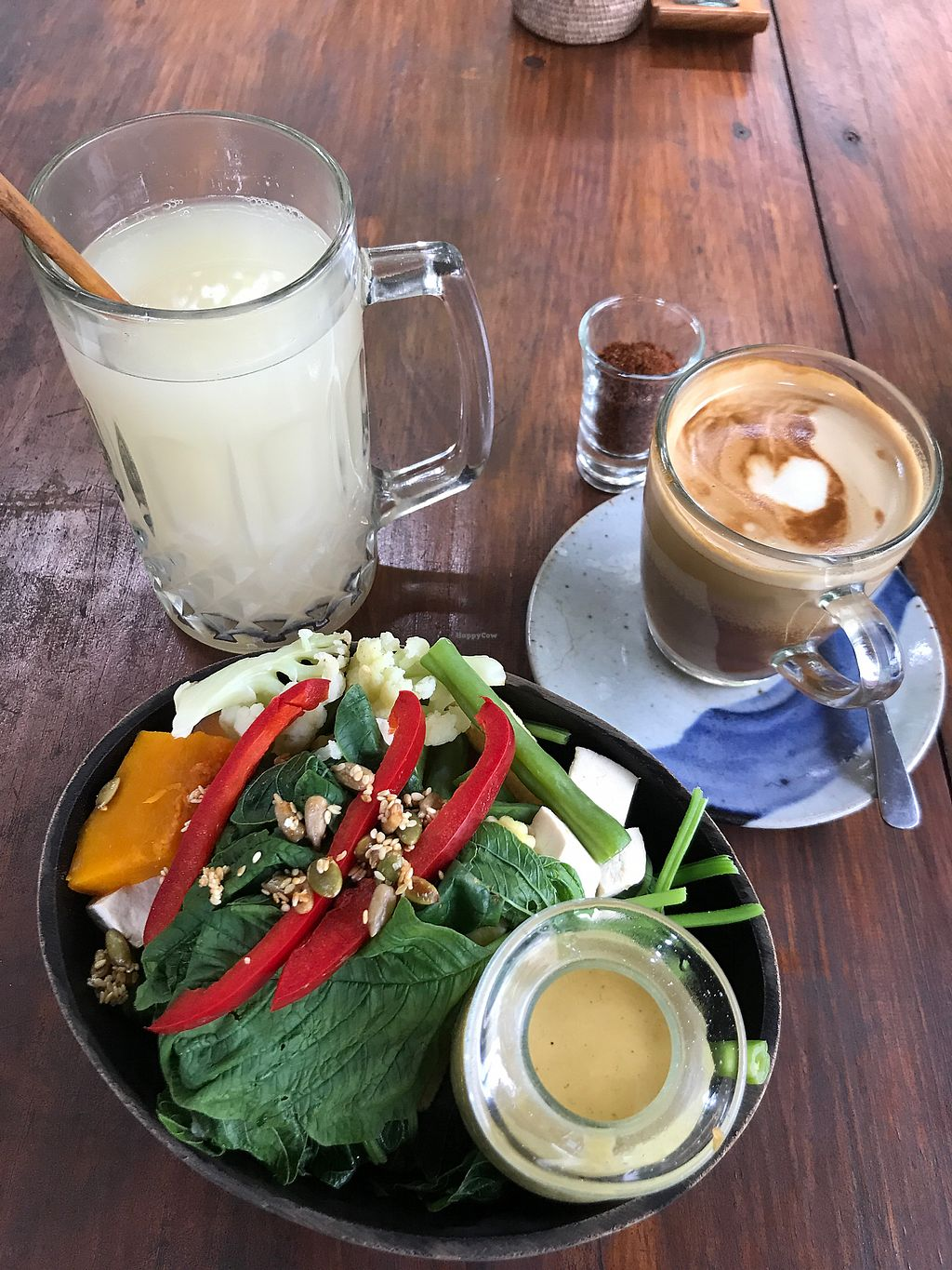 "Photo of The Garden Kafe at The Yoga Barn  by <a href=""/members/profile/LolaNachtigall"">LolaNachtigall</a> <br/>macro bowl - vegan & gf <br/> November 14, 2017  - <a href='/contact/abuse/image/39987/325685'>Report</a>"