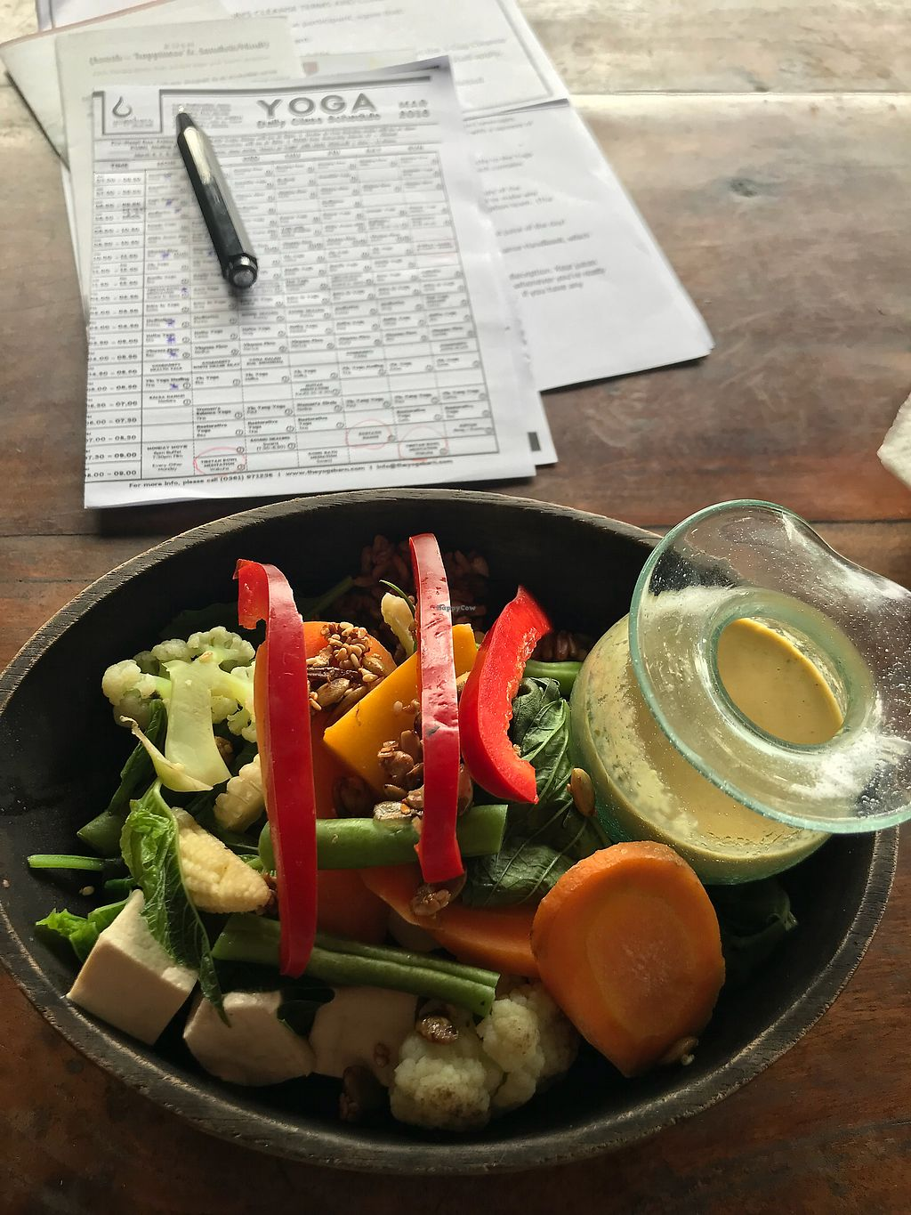 "Photo of The Garden Kafe at The Yoga Barn  by <a href=""/members/profile/LolaNachtigall"">LolaNachtigall</a> <br/>Macro Bowl - simply the best <br/> March 3, 2018  - <a href='/contact/abuse/image/39987/366102'>Report</a>"