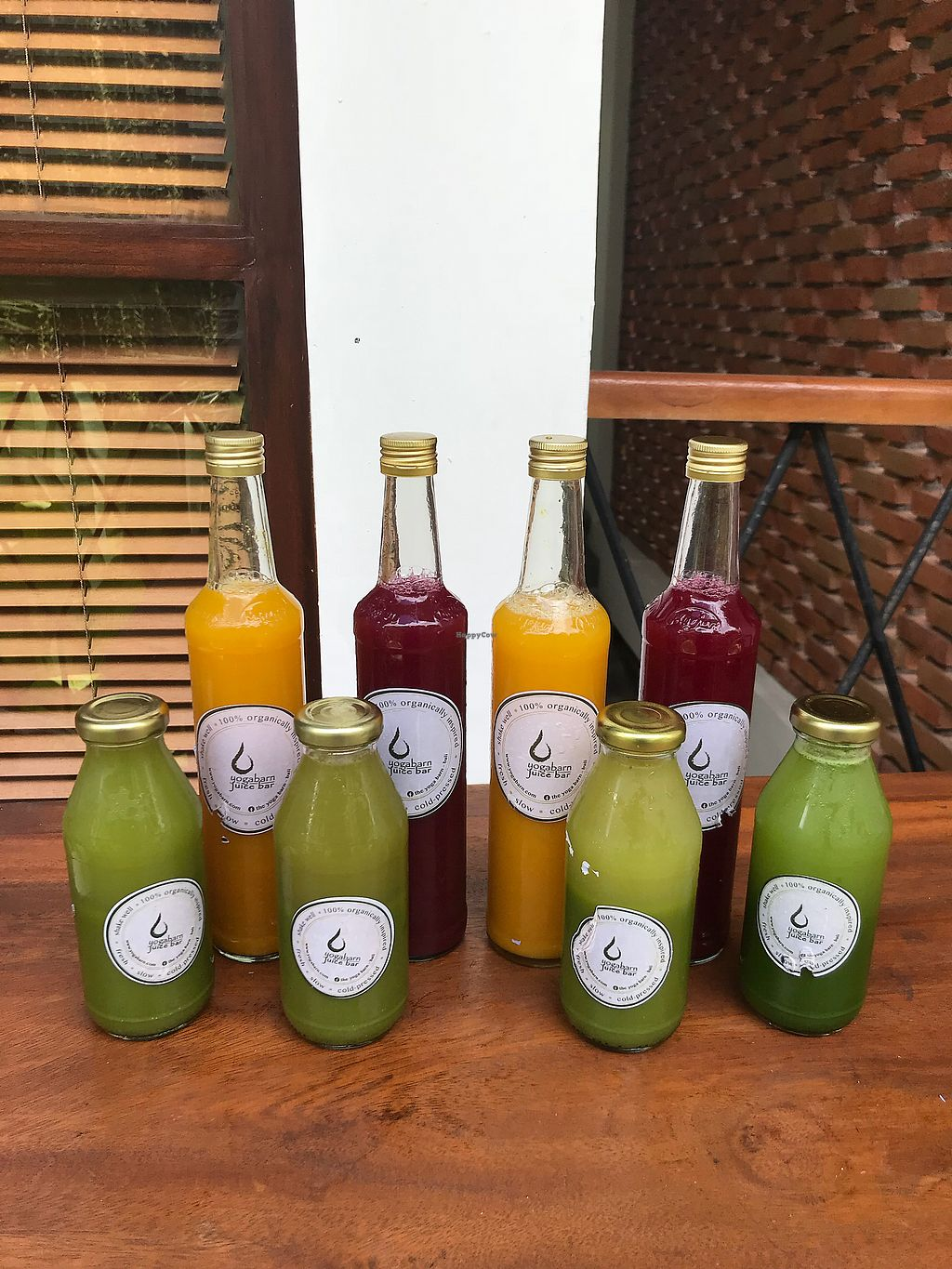 "Photo of The Garden Kafe at The Yoga Barn  by <a href=""/members/profile/LolaNachtigall"">LolaNachtigall</a> <br/>Fresh Juices from their Juice Bar <br/> March 16, 2018  - <a href='/contact/abuse/image/39987/371234'>Report</a>"