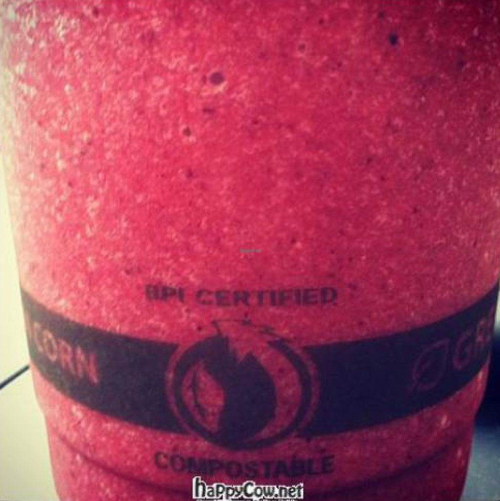 """Photo of The Juicery  by <a href=""""/members/profile/michaelxvx"""">michaelxvx</a> <br/>Very Berry smoothie <br/> January 30, 2012  - <a href='/contact/abuse/image/3998/208480'>Report</a>"""