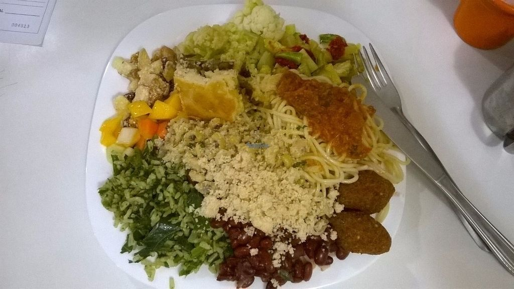 """Photo of Dona Vegana  by <a href=""""/members/profile/bruno.assaz"""">bruno.assaz</a> <br/>Lunch at Dona Vegana on October 10th, 2016 - I paid around R$ 45 for this plate <br/> October 15, 2016  - <a href='/contact/abuse/image/40008/182125'>Report</a>"""