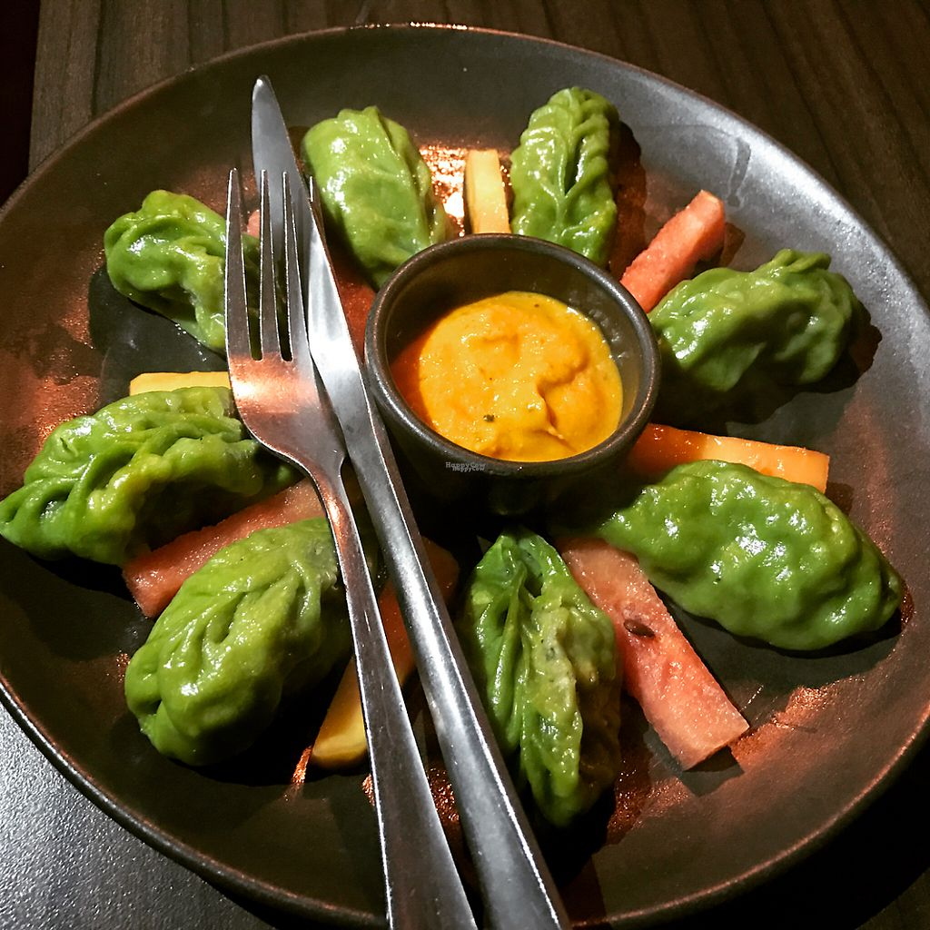 """Photo of Places Restaurant and Bar  by <a href=""""/members/profile/marukochan"""">marukochan</a> <br/> pesto momo <br/> January 28, 2017  - <a href='/contact/abuse/image/40015/218208'>Report</a>"""