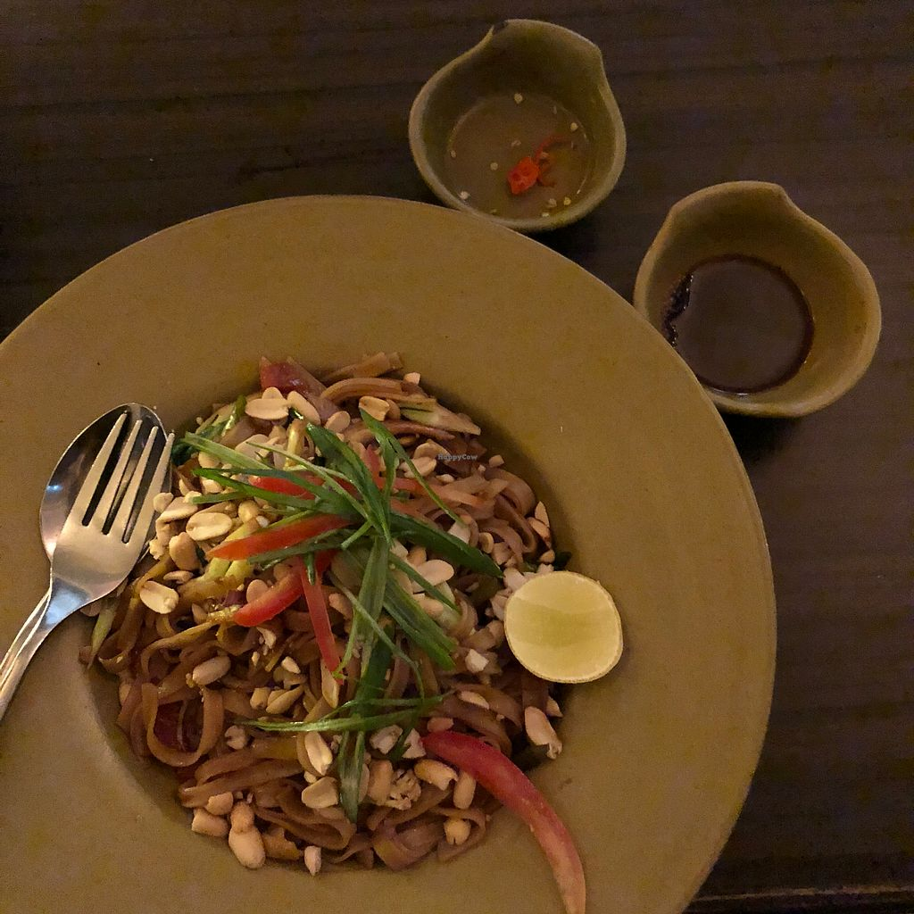 """Photo of Places Restaurant and Bar  by <a href=""""/members/profile/earthville"""">earthville</a> <br/>Pad Thai <br/> March 12, 2018  - <a href='/contact/abuse/image/40015/369520'>Report</a>"""