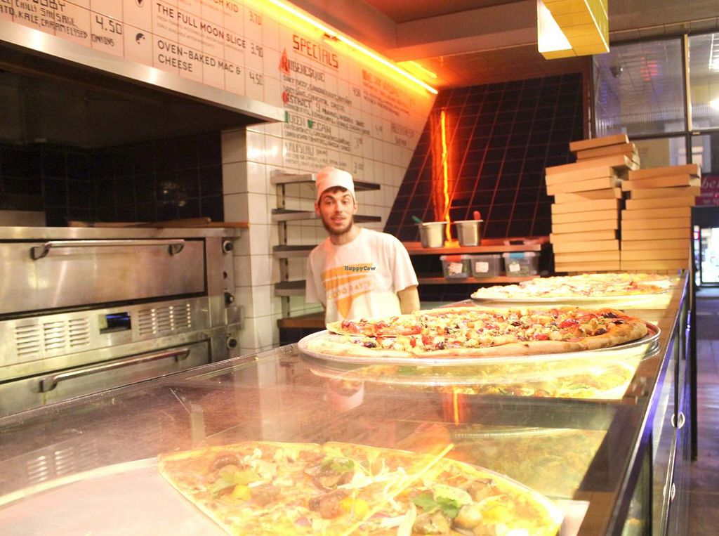 "Photo of Voodoo Rays - Dalston  by <a href=""/members/profile/kezia"">kezia</a> <br/>Vegan Pizza at Voo Doo Rays <br/> March 13, 2015  - <a href='/contact/abuse/image/40022/95652'>Report</a>"