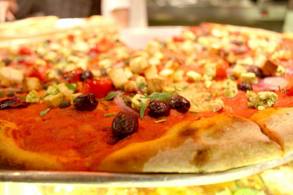 "Photo of Voodoo Rays - Dalston  by <a href=""/members/profile/kezia"">kezia</a> <br/>Another vegan pizza option at Voo Doo Rays <br/> March 13, 2015  - <a href='/contact/abuse/image/40022/95655'>Report</a>"