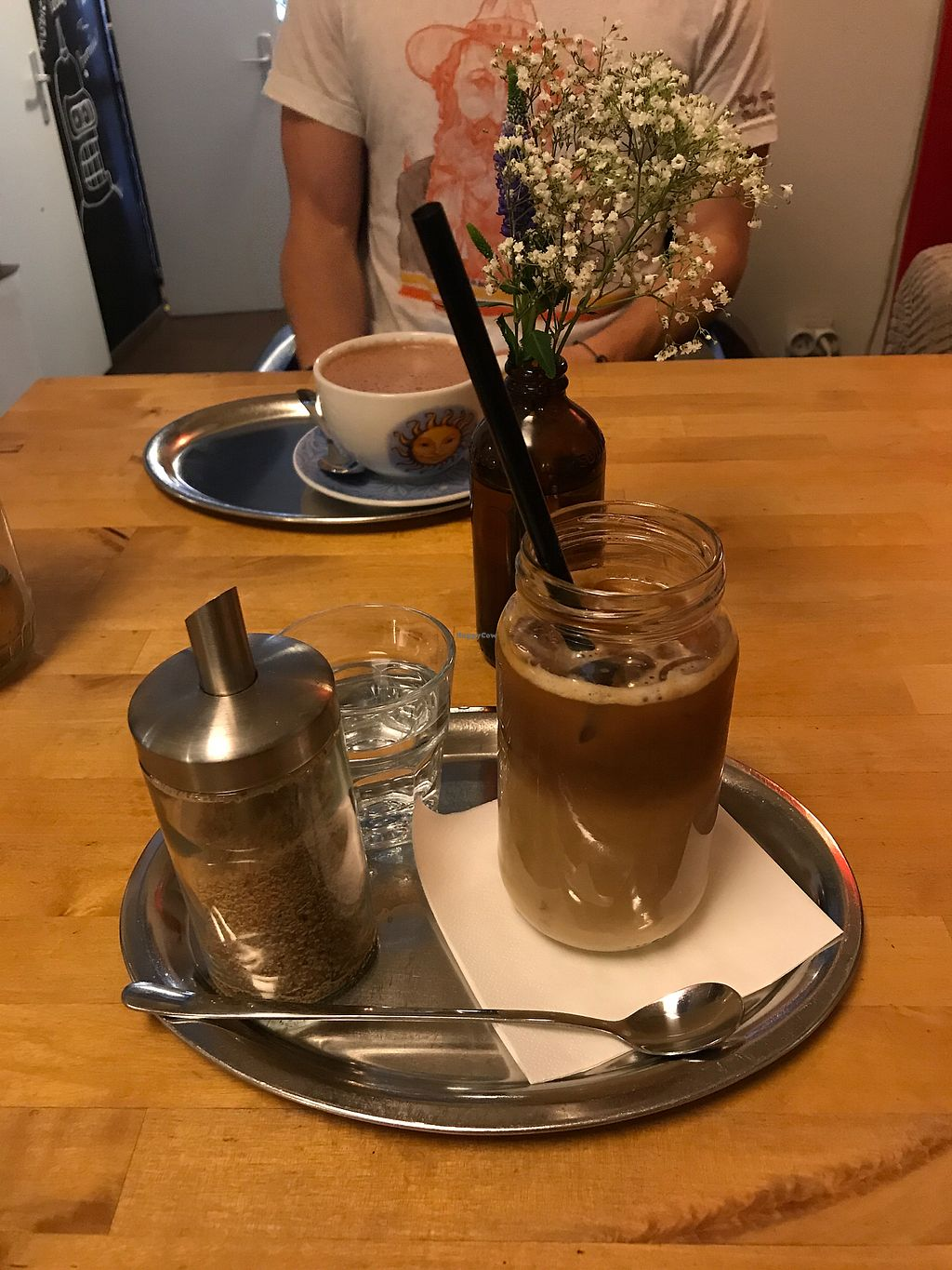 """Photo of Sicily Cafe  by <a href=""""/members/profile/megcanical"""">megcanical</a> <br/>Iced latte with soy <br/> March 12, 2018  - <a href='/contact/abuse/image/40071/369681'>Report</a>"""