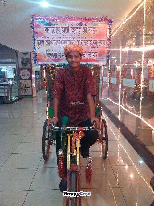 """Photo of Village the Soul of India  by <a href=""""/members/profile/Negi"""">Negi</a> <br/>Riding Tricycle at the entrance of Village restaurant.  <br/> July 18, 2013  - <a href='/contact/abuse/image/40079/51478'>Report</a>"""
