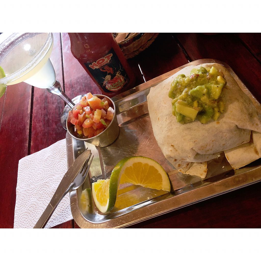 """Photo of Brunch de Salento  by <a href=""""/members/profile/dee_dee"""">dee_dee</a> <br/>Vegan burrito <br/> January 26, 2018  - <a href='/contact/abuse/image/40127/351115'>Report</a>"""
