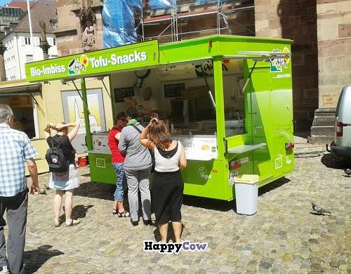 """Photo of Tofu-Standpunkt - food truck  by <a href=""""/members/profile/DennisFR"""">DennisFR</a> <br/>Tofu Takeout by Taifun in Freiburg <br/> August 5, 2013  - <a href='/contact/abuse/image/40144/52759'>Report</a>"""