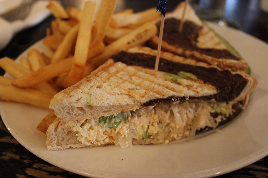 """Photo of Trinity Hall  by <a href=""""/members/profile/veggie_htx"""">veggie_htx</a> <br/>Reuben with fries <br/> September 19, 2017  - <a href='/contact/abuse/image/40151/306269'>Report</a>"""