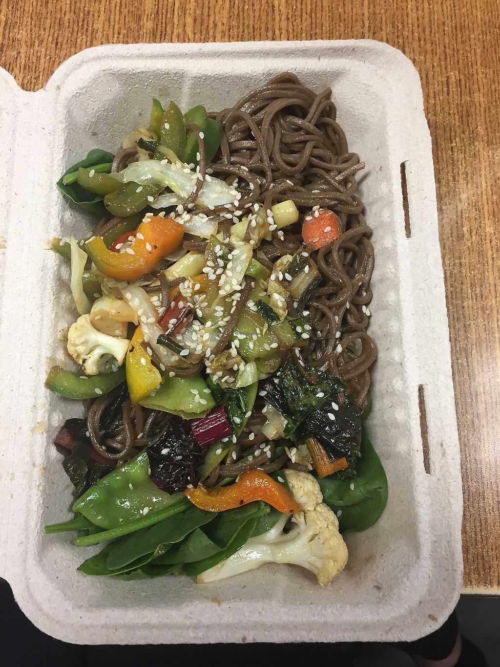 "Photo of The Rolled Oat  by <a href=""/members/profile/gabriela87"">gabriela87</a> <br/>Soba noodles  <br/> September 12, 2017  - <a href='/contact/abuse/image/40178/303756'>Report</a>"
