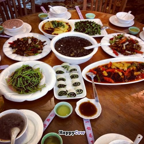 """Photo of CLOSED: Ci Yuan Zhai Vegetarian Restaurant  by <a href=""""/members/profile/Encrypted"""">Encrypted</a> <br/>Many dishes <br/> July 26, 2013  - <a href='/contact/abuse/image/40252/52232'>Report</a>"""