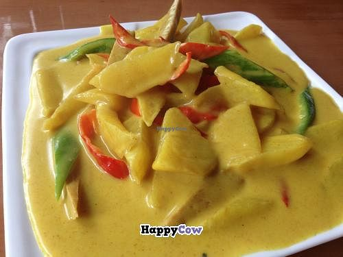 """Photo of CLOSED: Ci Yuan Zhai Vegetarian Restaurant  by <a href=""""/members/profile/Encrypted"""">Encrypted</a> <br/>Curry potato <br/> July 26, 2013  - <a href='/contact/abuse/image/40252/52234'>Report</a>"""