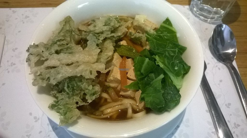 """Photo of Zrno Bio Bistro  by <a href=""""/members/profile/SaraMarkic"""">SaraMarkic</a> <br/>tamari ginger udon soup, perfect!! <br/> August 13, 2016  - <a href='/contact/abuse/image/40259/168141'>Report</a>"""