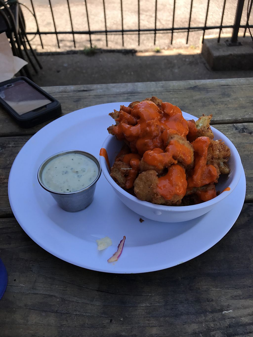 """Photo of Lulu's Local Eatery  by <a href=""""/members/profile/Wolf-LoverMarie"""">Wolf-LoverMarie</a> <br/>Buffalo cauliflower bites <br/> September 2, 2017  - <a href='/contact/abuse/image/40268/300230'>Report</a>"""