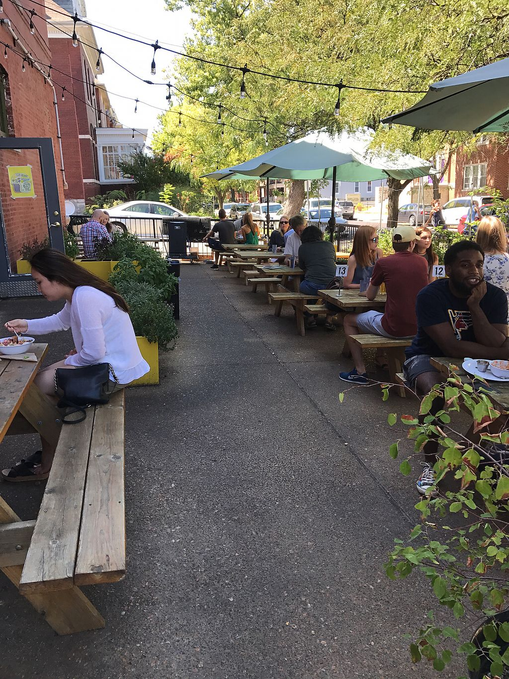 """Photo of Lulu's Local Eatery  by <a href=""""/members/profile/Wolf-LoverMarie"""">Wolf-LoverMarie</a> <br/>Suiting outside was enjoyable  <br/> September 2, 2017  - <a href='/contact/abuse/image/40268/300233'>Report</a>"""