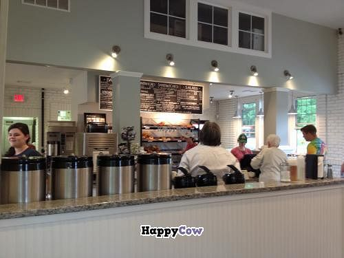 """Photo of Tandem Bagel Company  by <a href=""""/members/profile/Sarah%20P"""">Sarah P</a> <br/>Tandem coffee station <br/> September 24, 2013  - <a href='/contact/abuse/image/40272/55588'>Report</a>"""