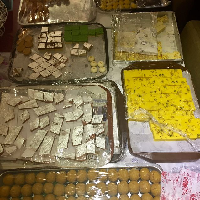 """Photo of WTF - What Tasty Food  by <a href=""""/members/profile/Gillsabroad"""">Gillsabroad</a> <br/>Indian sweets fur Diwali  <br/> October 28, 2016  - <a href='/contact/abuse/image/40305/184959'>Report</a>"""