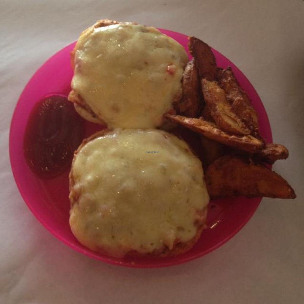 """Photo of WTF - What Tasty Food  by <a href=""""/members/profile/AndyT"""">AndyT</a> <br/>Kids menu: Mini Pizza&Fries <br/> May 28, 2014  - <a href='/contact/abuse/image/40305/70966'>Report</a>"""